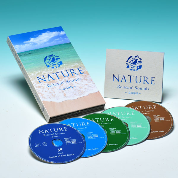 NATURE 〜 Relaxin Sounds〜心の休日 CD5枚組 DQCL-3270 ヒーリング リラックス イージーリスニング ワールド